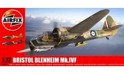 Blenheim Mk IVF Bristol - AIRFIX A04017 1/72