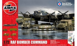 Lancaster B Mk. I Avro / Аэродромная техника RAF - AIRFIX A50139 1/72
