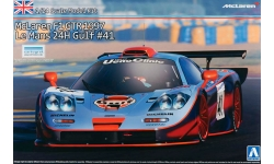 McLaren F1 GTR - AOSHIMA 007471 SUPER CAR No. 19 1/24
