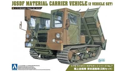 Material Handling and Carrier Vehicle Morooka - AOSHIMA 007976 No. 7 1/72
