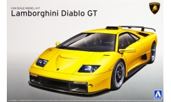 Lamborghini Diablo GT - AOSHIMA 010501 SUPER CAR No. 23 1/24 PREORD
