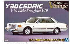 Nissan Cedric V30 Turbo Brougham VIP (Y30) 1984 - AOSHIMA 041024 THE BEST CAR VINTAGE No. 61 1/24