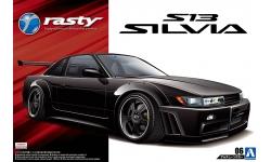 Nissan Silvia S13 - AOSHIMA 050989 TUNED CAR No. 6 1/24 PREORD
