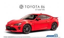Toyota 86 / GT86 (ZN6) 2016 - AOSHIMA 051801 MODEL CAR No. 25 1/24 PREORD