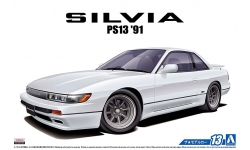 Nissan Silvia S13 1991 - AOSHIMA 052105 MODEL CAR No. 13 1/24 PREORD