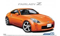 Nissan Fairlady Z Z33 Version ST 2007 - AOSHIMA 053089 MODEL CAR No. 33 1/24 PREORD