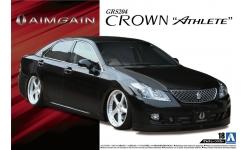 Toyota Crown Athlete GRS204 2008 - AOSHIMA 053102 TUNED CAR No. 18 1/24 PREORD