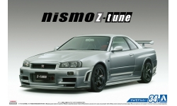 Nissan Skyline GT-R (BNR34) 2004 - AOSHIMA 053164 MODEL CAR No. 34 1/24 PREORD