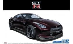 Nissan GT-R SpecV R35 2009 - AOSHIMA 053171 MODEL CAR No. 35 1/24 PREORD