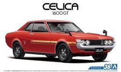 Toyota Celica Coupe 1600 GT (TA22) 1972 - AOSHIMA 053188 MODEL CAR No. 36 1/24 PREORD