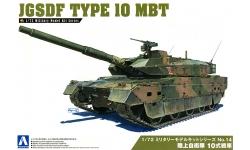 Type 10 MBT Mitsubishi - AOSHIMA 054314 No. 14 1/72