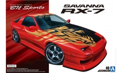 Mazda RX-7 FC3S 1989 - AOSHIMA 054499 TUNED CAR No. 40 1/24 PREORD