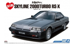 Nissan Skyline 2000 Turbo Intercooler RS-X Hardtop DR30 1984 - AOSHIMA 054796 MODEL CAR No. 59 1/24 PREORD