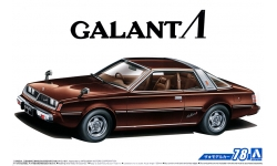 Mitsubishi Galant Λ (Lambda) Eterna (A133A) 1978 - AOSHIMA 055878 MODEL CAR No.78 1/24
