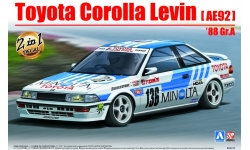 Toyota Corolla Levin AE92 1988 - AOSHIMA 098240 BEEMAX No. 12 1/24 PREORD