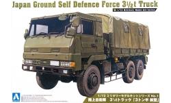Type 73 Heavy Truck 3.5t Isuzu - AOSHIMA 002322 No. 1 1/72