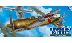 Ki-100-II Kawasaki - AOSHIMA 008706 1/72