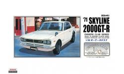 Nissan Skyline 2000GT-R Hardtop (KPGC10) 1971 - ARII 51001 No. 25 1/32