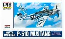 P-51D North American Aviation, Mustang - ARII A331 1/48