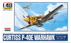 P-40E Curtiss, Warhawk - ARII A332 1/48