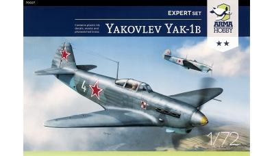 Як-1Б Яковлев - ARMA HOBBY 70027 1/72