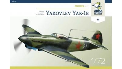 Як-1Б Яковлев - ARMA HOBBY 70028 1/72