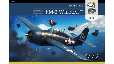 FM-2 General Motors, Wildcat - ARMA HOBBY 70031 1/72
