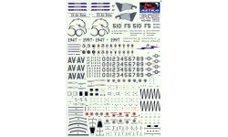 F-16C Lockheed Martin, Fighting Falcon - ASTRA DECALS ASD-4808 1/48