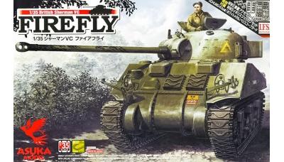 Sherman VC / M4A4, Firefly - ASUKA 35-009 1/35 PREORD