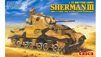 Sherman III / M4A2 - ASUKA 35-017 1/35 PREORD