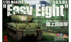 M4A3E8, Sherman, Easy Eight - ASUKA 35-024 1/35