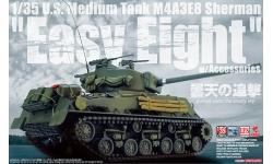 M4A3E8, Sherman, Easy Eight - ASUKA 35-030 1/35 PREORD
