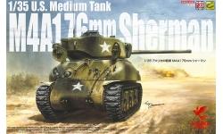 M4A1(76)W, Sherman - ASUKA 35-047 1/35