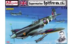 Spitfire Mk IXc Supermarine - AZ MODEL AZ7391 1/72