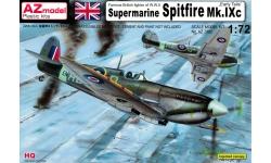Spitfire Mk IXc Supermarine - AZ MODEL AZ7392 1/72