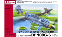 Bf 109G-6 Messerschmitt - AZ MODEL AZ7434 1/72