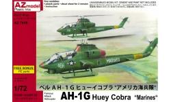 AH-1G Bell, Huey Cobra - AZ MODEL AZ7449 1/72