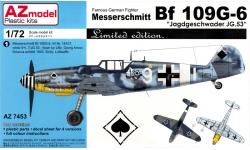 Bf 109G-6 Messerschmitt - AZ MODEL AZ7453 1/72