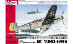 Bf 109G-6/R6 Messerschmitt - AZ MODEL AZ7460 1/72