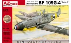 Bf 109G-4 Messerschmitt - AZ MODEL AZ7469 1/72