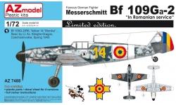 Bf 109G-2 Messerschmitt - AZ MODEL AZ7488 1/72