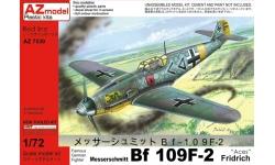 Bf 109F-2 Messerschmitt - AZ MODEL AZ7530 1/72