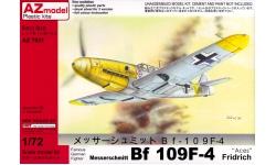 Bf 109F-4 Messerschmitt - AZ MODEL AZ7531 1/72