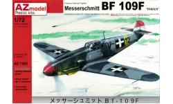 Bf 109F-4 Messerschmitt - AZ MODEL AZ7563 1/72