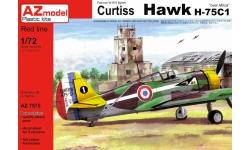 Hawk H75A-1/2/3 Curtiss - AZ MODEL AZ7575 1/72