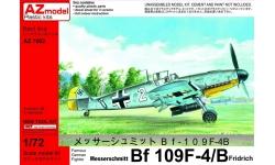 Bf 109F-4/R6 Messerschmitt - AZ MODEL AZ7602 1/72