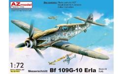 Bf 109G-10 Messerschmitt - AZ MODEL AZ7615 1/72