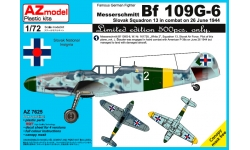 Bf 109G-6 Messerschmitt - AZ MODEL AZ7625 1/72