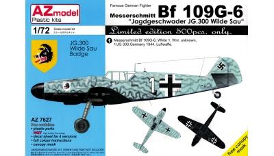 Bf 109G-6 Messerschmitt - AZ MODEL AZ7627 1/72