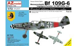 Bf 109G-6 Messerschmitt - AZ MODEL AZ7628 1/72